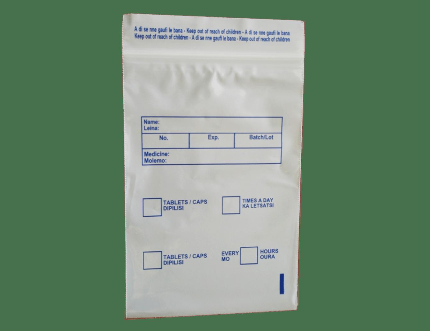 Medical Zipper Bags