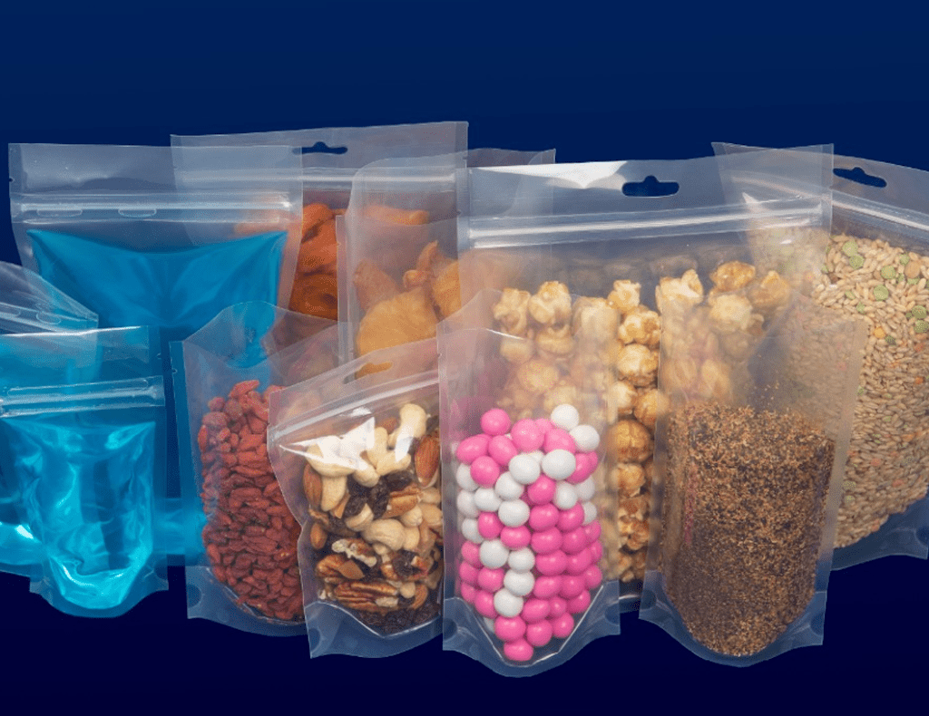 Clear Doy Zipper Bag / Stand Up Pouch