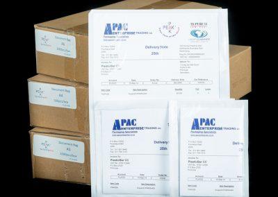 Plastic Document Protectors